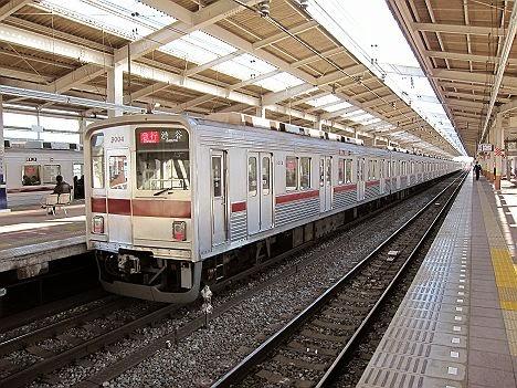 東京メトロ副都心線 急行 渋谷行き3 東武9000系