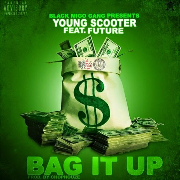 Young Scooter - Bag It up (feat. Future) - Single Cover