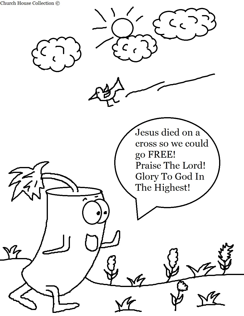 Free coloring pages fourth of july - Firecracker Coloring Pages For Kids In Sunday School