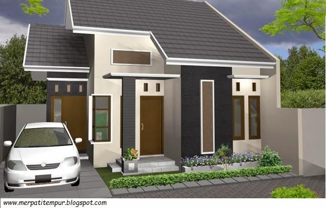 Desain Rumah  Minimalis Type  45 Merpati Tempur