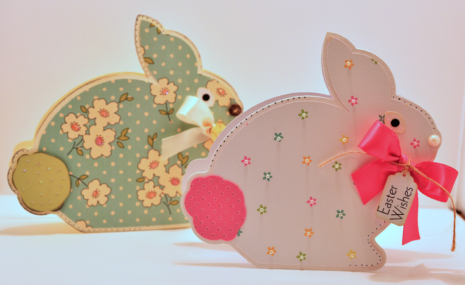 Craft Creations: Dutch Bunny Shaped Cards