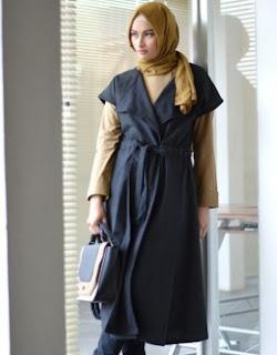 Model Cardigan Panjang Selutut Dan Semata Kaki Sedang Trend