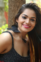 Aswini in lovely Deep Neck Sleeveless Black Dress Spicy Pics ~  Exclusive 18.JPG