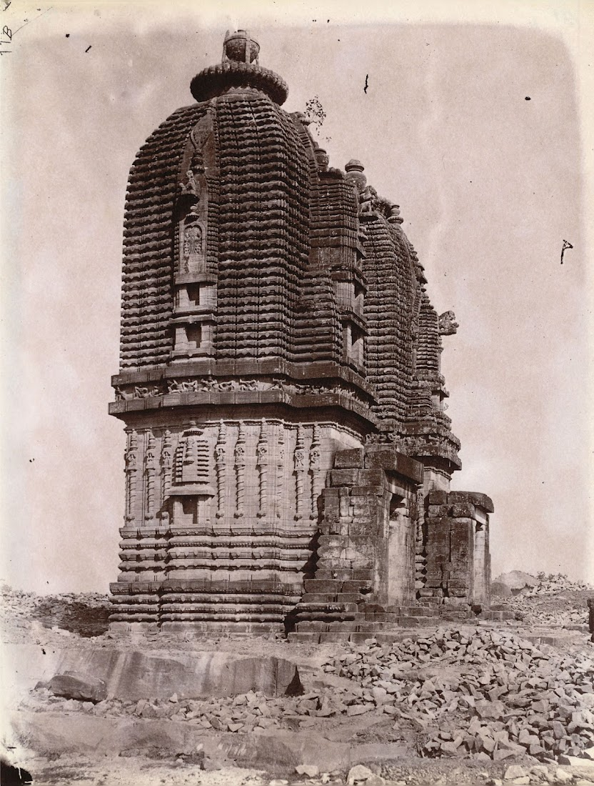 Ganesha and Durga Temples, Barakar, Burdwan District - 1872