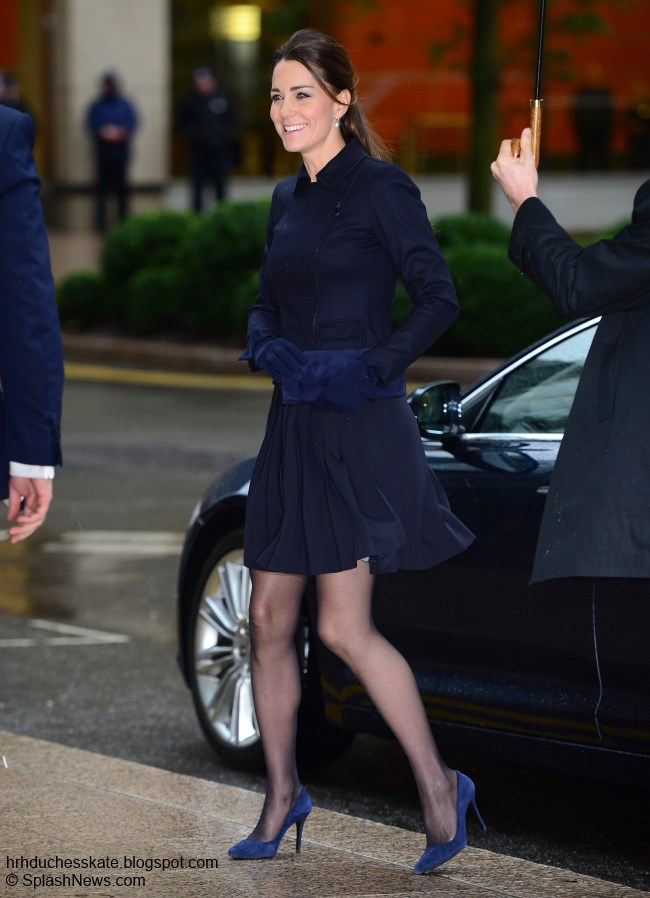 Duchess Kate Kate Attends Place2be Forum In Max Mara And