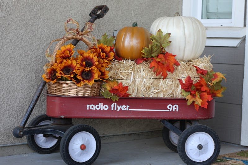 Fall Wagon Decorations The Wagon