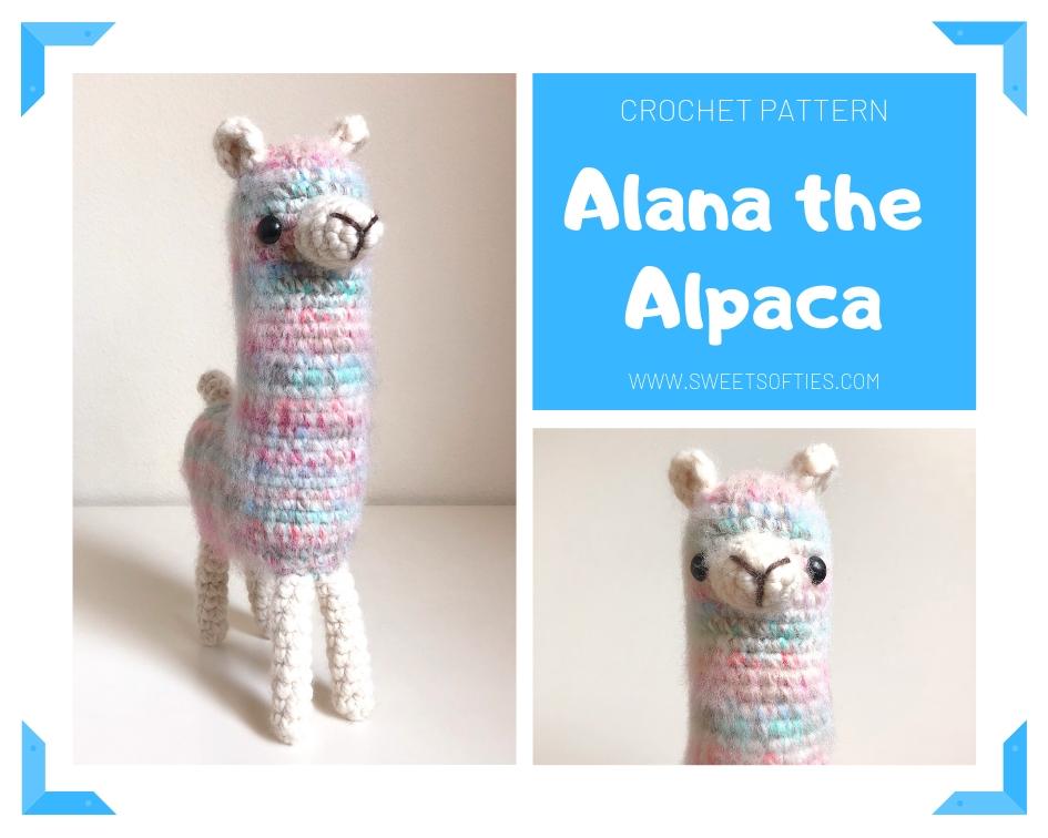 Crochet pattern Alpaca Alpaca Amigurumi Amigurumi Alpaca | Etsy | 756x945