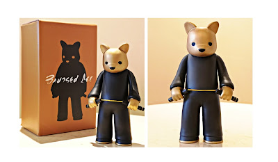 Bruised Lee Gold Edition Vinyl Figure by Luke Chueh x VTSS