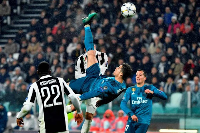 Madrid Kalahkan Juventus Tanpa Perlawanan 3 - 0 Dan Tendangan Salto Ronaldo Yang Luar Biasa