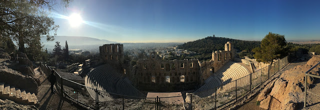 panorama de la Acropole