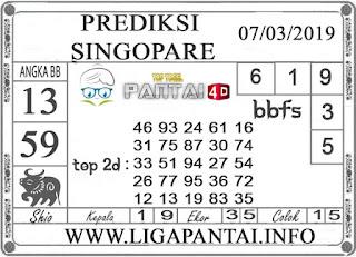 """Prediksi Togel """"SINGAPORE"""" PANTAI4D 07 MARET 2019"""
