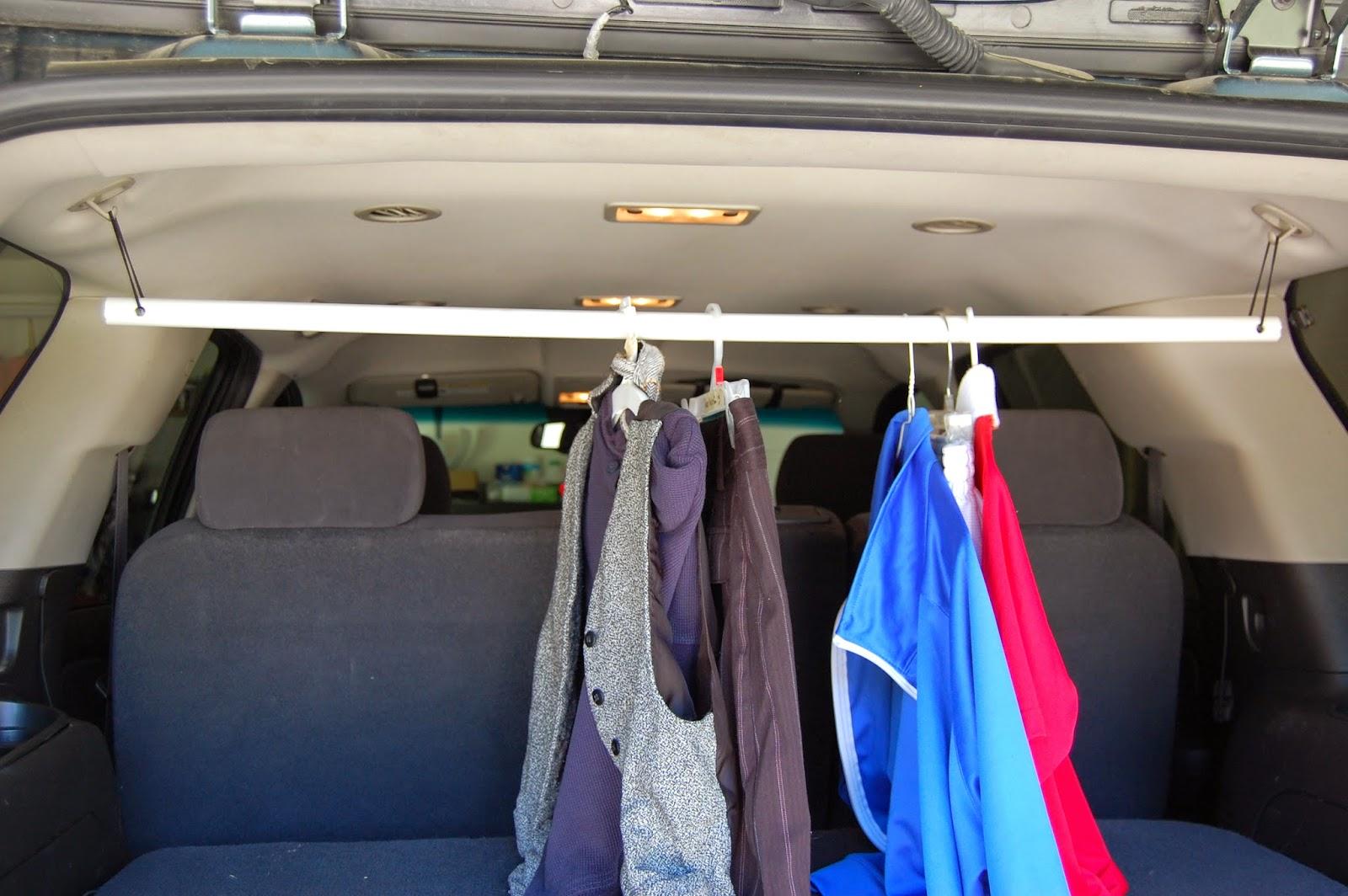 Diy Clothes Rack For Car   Racks Blog Ideas