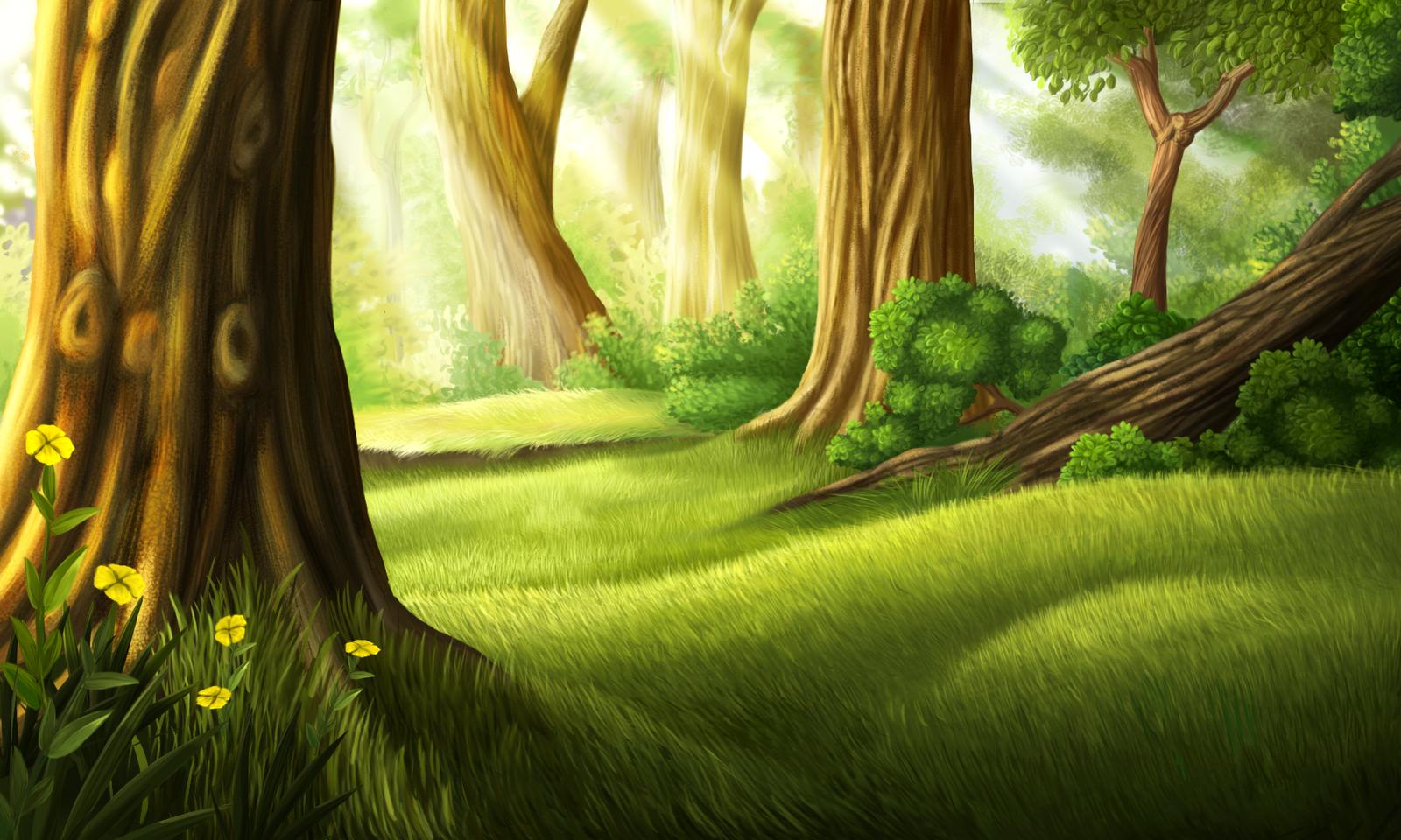 Открытки новым, сказочный лес картинки для фотошопа