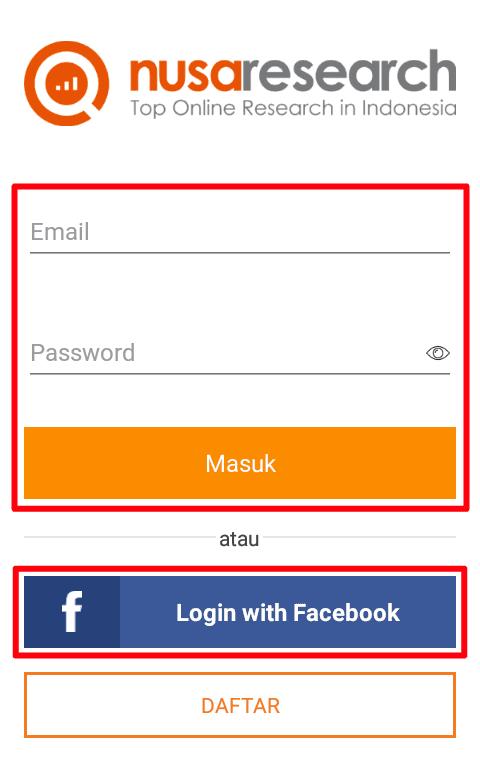 buka apknya dan tunggu loading selesai kemudian Masuk / Login menggunakan akun yang telah Anda daftarkan sebelumnya dan ikuti petunjuk selanjutnya.