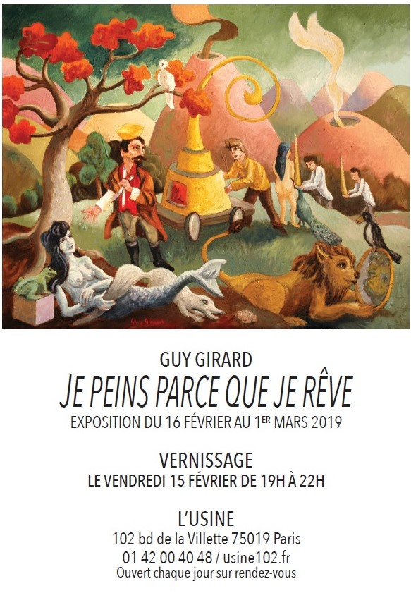 Guy GIRARD, EXPOSITION Février-Mars 2019