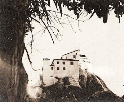 Convento da Penha. Foto Guilherme Santos Neves, anos 1950.