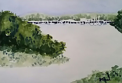 Lake Travis Watercolor - JKeese