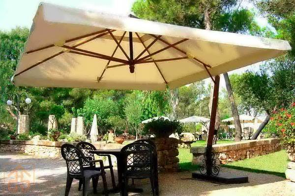 Patio Umbrellas Are A Great Way To Stay Cool On The Patio And Look Good  Doing It. Nothing Is More Uncomfortable For You Guests Than To Sit On A Hot  Concrete ...