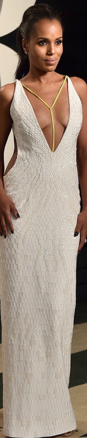 Kerry Washington 2016 Vanity Fair Oscar Party