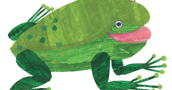 eric carle blog green frog green frog what do you see. Black Bedroom Furniture Sets. Home Design Ideas