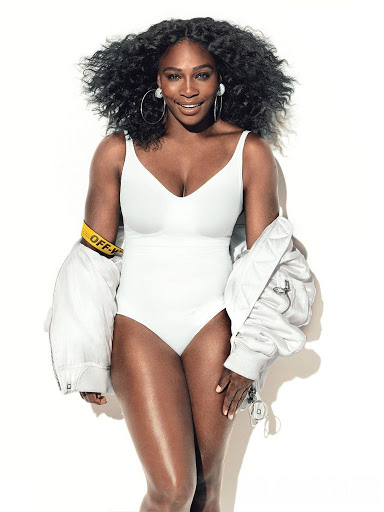 Serena Williams models photo shoot for Glamour Magazine July 2016