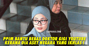 Thumbnail image for 'Doktor Gigi Youtube' Dibebaskan, PPIM Bantu Kerana Dia Aset Negara