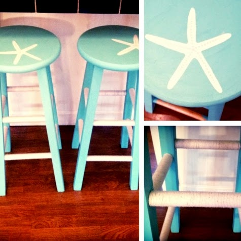 Starfish Bar Stools