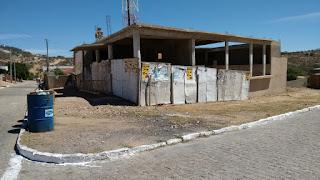 Em Picuí obra com custos de quase meio Milhão de Reais continua Inacabada e Abandonada