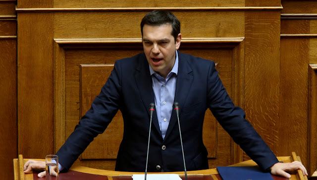 Αλέξης Τσίπρας: Κρατούμε το νήμα της εξέγερσης δημιουργώντας τη νέα Ελλάδα