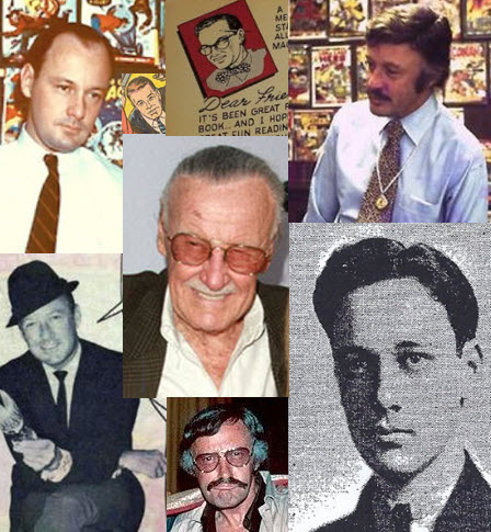 Stan Lee over the years