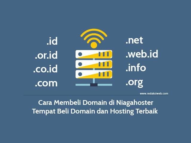 Cara Membeli Domain di Niagahoster, Tempat Beli Domain dan Hosting Terbaik
