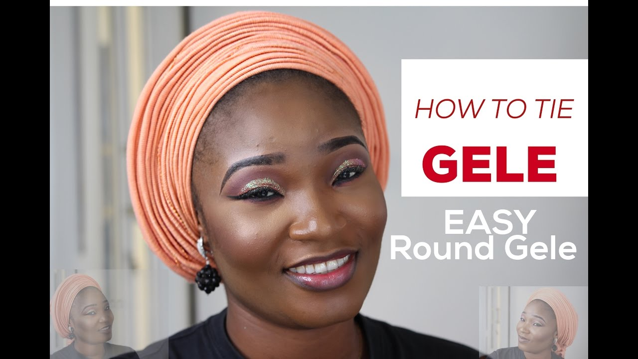 Download video how to tie gele easy gele tutorial believers with this lovely tutorial video you will learn a new way of tying a lovely round gele download and learn ccuart Choice Image