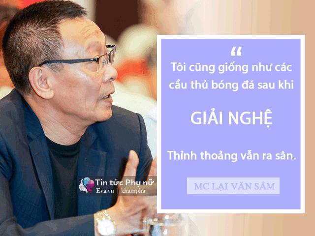 Nhà báo Lại Văn Sâm: 'Tôi thấy phụ nữ Việt bây giờ có một điểm chung là thích trai đẹp' - Ảnh 1