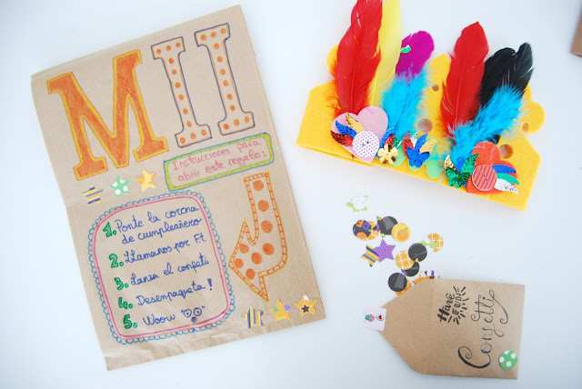 kit para cumpleaños a distancia DIY