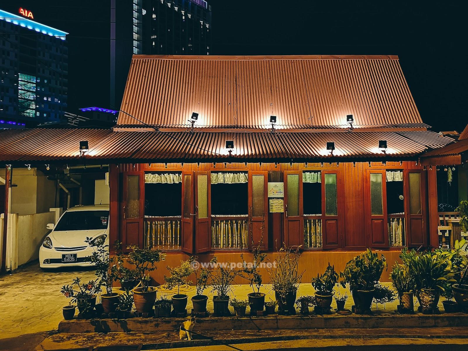 Rumah Melayu Melaka Kampung Morten 1