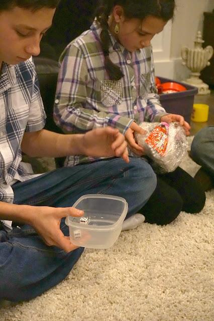 Michelle Paige Blogs Plastic Wrap Party Game