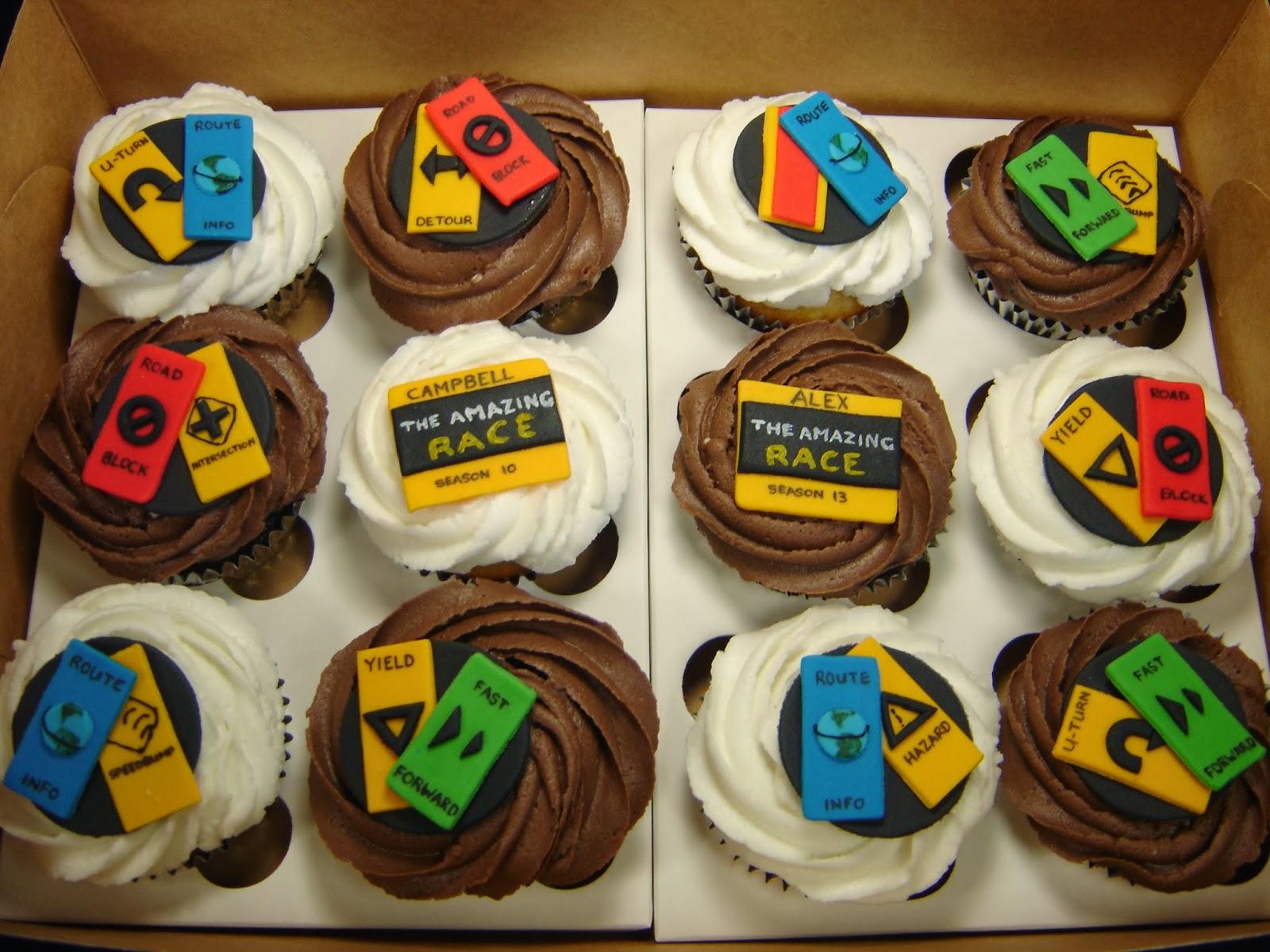The Amazing Race Birthday Cake