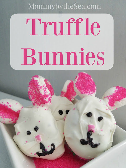 Chocolate Easter bunny truffle cake pops