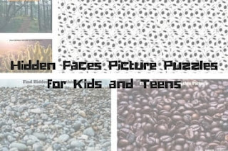 Hidden Faces Picture Puzzles for Kids and Teens