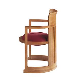Silla Barril. Frank Lloyd Wright