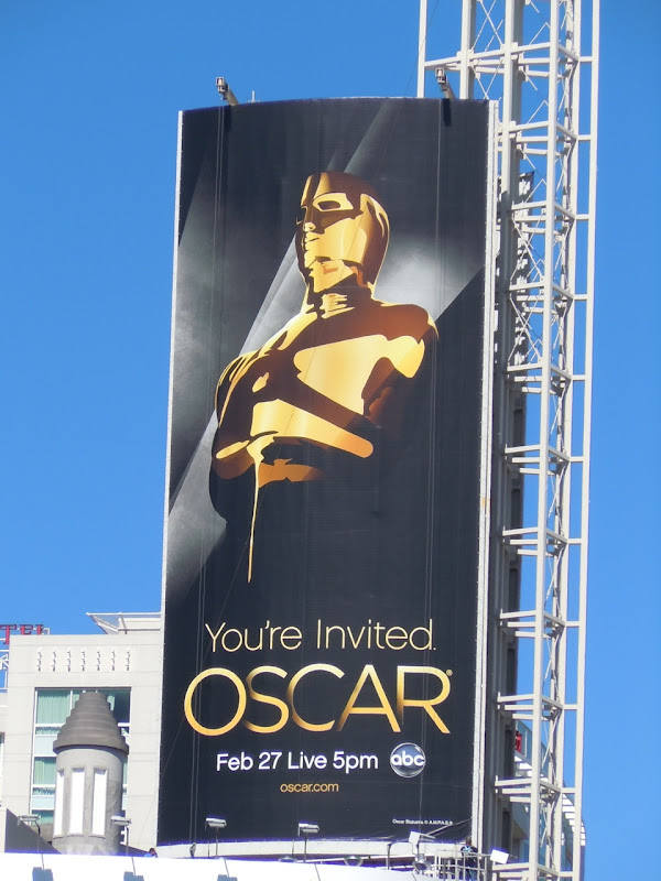 83rd Oscars billboard