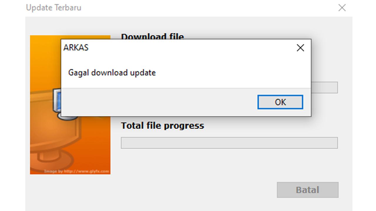Jangan Panik Jika Tidak Bisa Update ARKAS Ke-Versi Terbaru