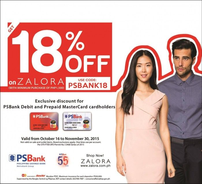 PSBank and Zalora Promo