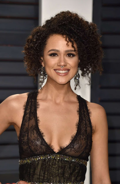Nathalie Emmanuel – 2017 Vanity Fair Oscar Party
