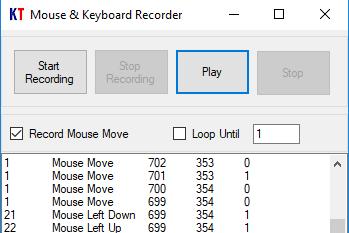 Mouse & Keyboard Recorder .NET