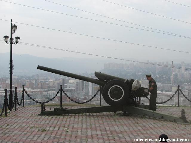 Красноярск - Во сколько стреляют из пушки у часовни Параскевы-Пятницы?