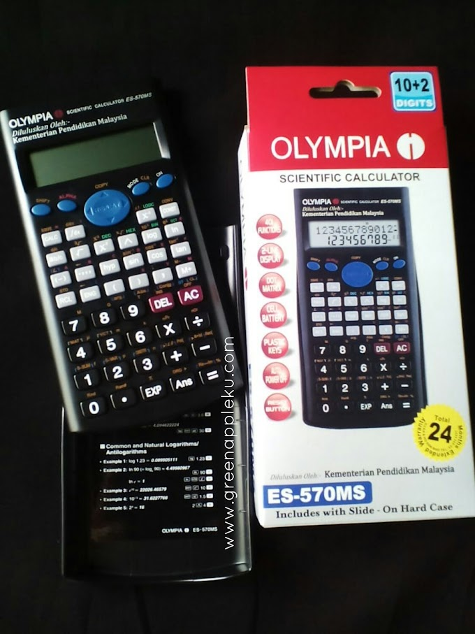 Olympia Scientific Calculator ES-570MS