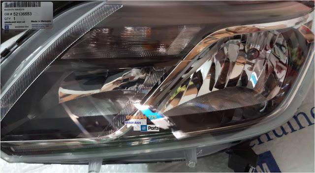 Đèn pha xe Chevrolet Traiblazer chính hãng GM