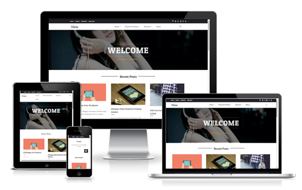 View Responsive Grid Blogger Templates