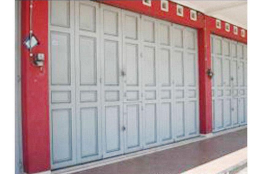 pintu besi ruko 2